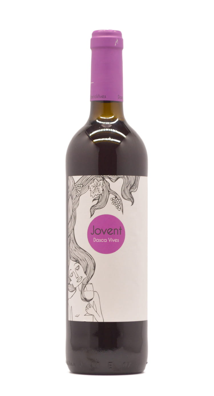 Jovent wine bottle