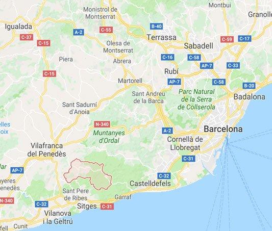 Penedes-region