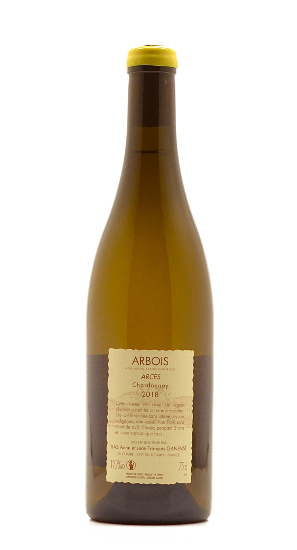 Chardonnay Arces - back